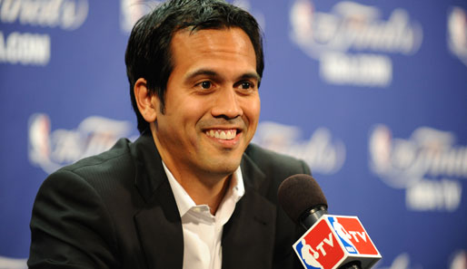 Erik Spoelstra ist seit April 2008 Trainer der Miami Heat