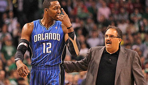 Dwight Howard soll den Rauswurf von Magic-Coach Stan van Gundy gefordert haben