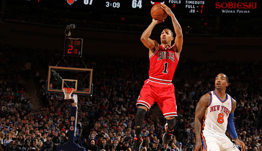 Derrick Rose von den Chicago Bulls ist amtierender Most Valuable Player