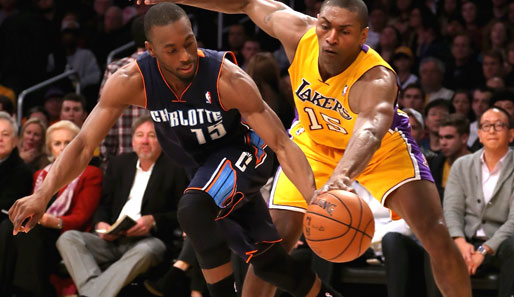 Kemba Walker war Charlottes Topscorer, Metta World Peace Schlüsselspieler der Lakers
