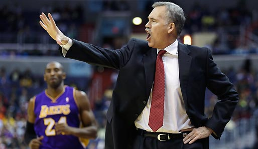 Mike D'Antoni löste bei den L.A. Lakers Mike Brown als Head Coach ab
