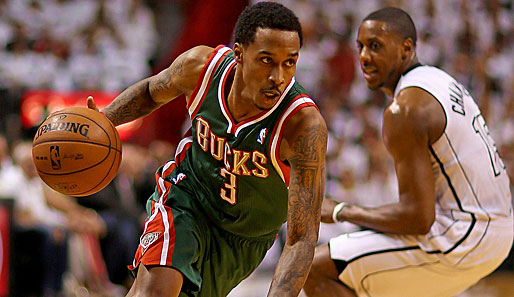 Brandon Jennings wurde 2009 an 10. Stelle von den Milwaukee Bucks gedraftet