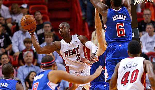 Dwyane Wade, Miami Heat, Los Angeles Clippers