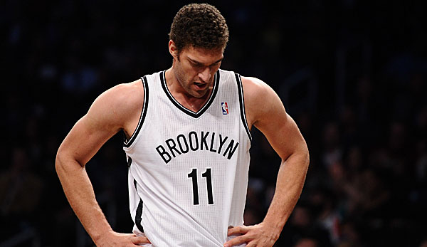 Brook Lopez war in dieser Saison Topscorer der Brooklyn Nets
