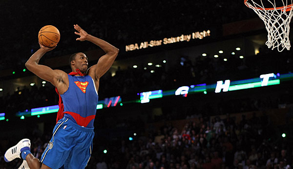 2008 hatte Dwight Howard den Contest im Superman-Kostüm gewonnen