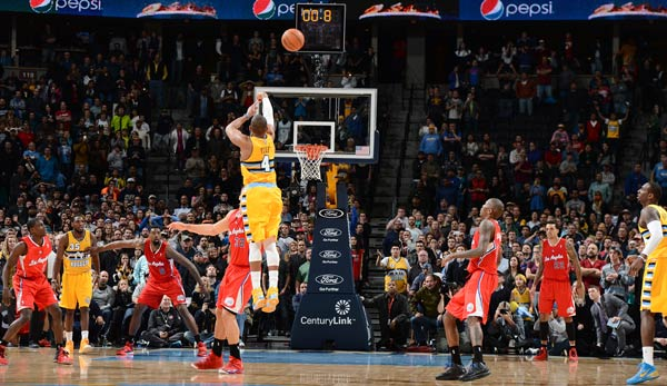 Die Denver Nuggets besiegten die Los Angeles Clippers dank eines Buzzer-Beaters