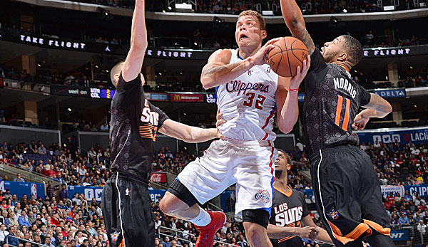 Blake Griffin, Los Angeles Clippers, Phoenix Suns