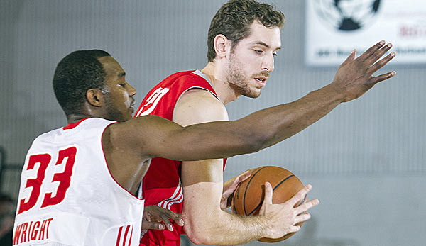 Center Tim Ohlbrecht wurde 2013 ins D-League-All-Star-Team gewählt