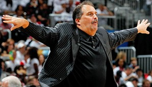 Stan van Gundy war von 2007 bis 2012 Coach der Orlando Magic