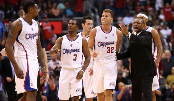 Die Los Angeles Clippers scheiterten in der zweiten Playoff-Runde an den Oklahoma City Thunder