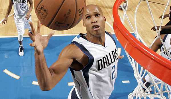 Richard Jefferson kam vor der Saison von den Utah Jazz zu den Dallas Mavericks
