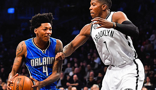 Rookie Elfrid Payton ist der neue Starting-Point-Guard der Orlando Magic