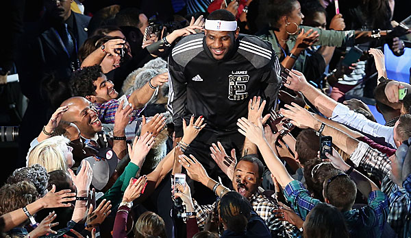 LeBron James bestreitet in New York City bereits sein elftes All-Star Game