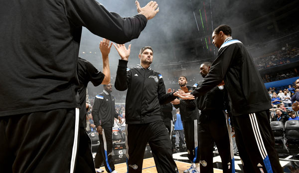 Nikola Vucevic kam im Zuge des Howard-Trades zu den Orlando Magic