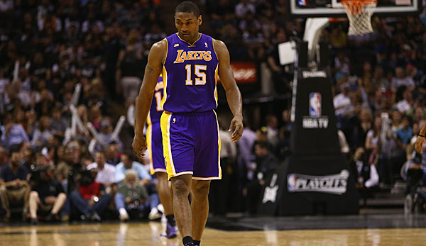 Metta World Peace holte 2010 mit den Lakers die Meisterschaft