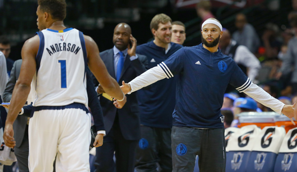 Deron Williams (r.) wechselte von den Brooklyn Nets zu den Dallas Mavericks