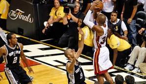 Ray Allen, Miami Heat, San Antonio Spurs