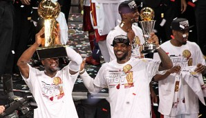 LeBron James, Dwyane Wade, Miami Heat