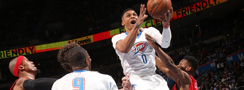 Russell Westbrook, Oklahoma City Thunder, NBA
