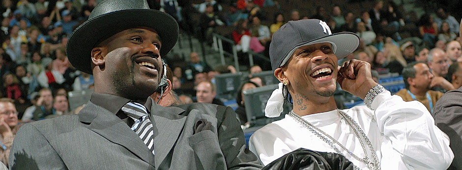 Allen Iverson, Shaquille O'Neal