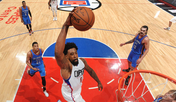 Clippers-Center DeAndre Jordan legte ein starkes Doubel-Double auf