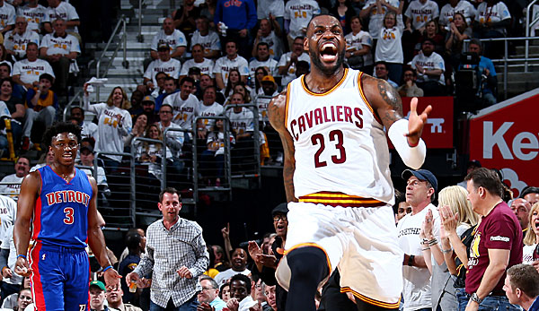 LeBron James war Top-Scorer seiner Cavaliers