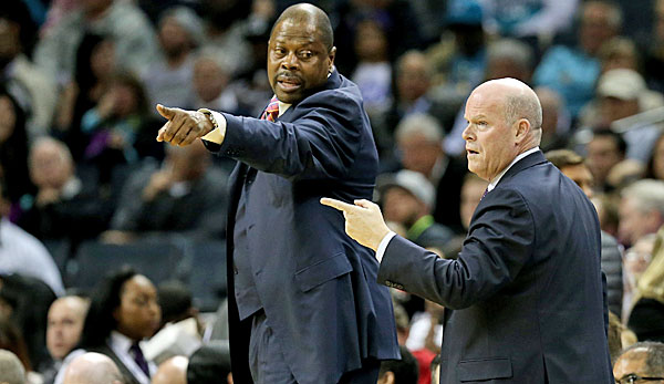 Patrick Ewing ist aktuell Assistant Coach der Charlotte Hornets