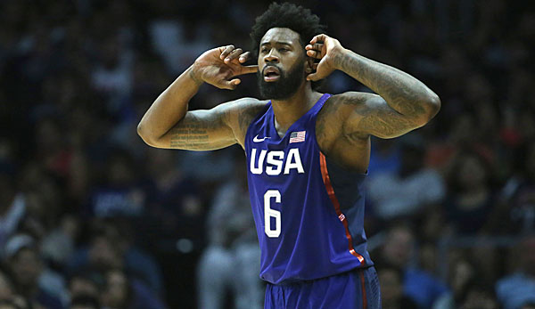 DeAndre Jordan will mit Team USA die Goldmedaille