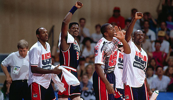 Patrick Ewing holte 1992 mit dem Dream Team souverän Gold bei Olympia