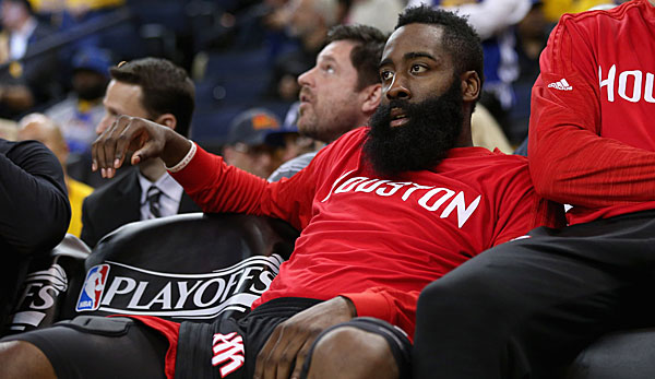 James Harden ist der Superstar der Houston Rockets