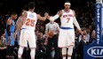 Carmelo Anthony und Derrick Rose