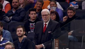 Phil Jackson ist ein Fan der Triangle-Offense