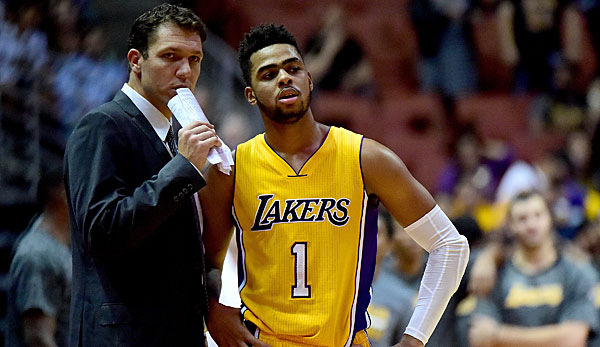 Luke Walton ist seit Sommer 2016 Head Coach der Los Angeles Lakers