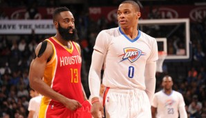 James Harden und Russell Westbrook