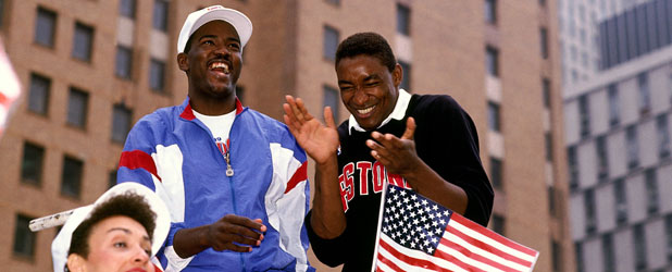 Joe Dumars, Isiah Thomas