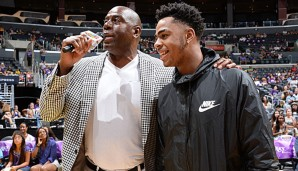 Magic Johnson leitet ab sofort die Geschicke der Lakers