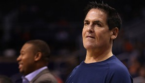 Mark Cuban nahm beim All-Star Weekend am Celebrity Game teil