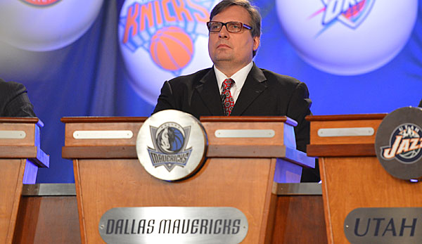 Donnie Nelson ist der General Manager der Dallas Mavericks