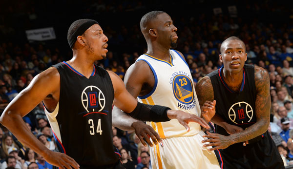 Draymond Green und Paul Pierce