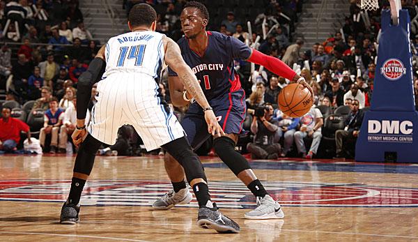 Detroit Pistons und Orlando Magic diskutierten über Trade ...