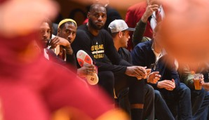 LeBron James is not amused
