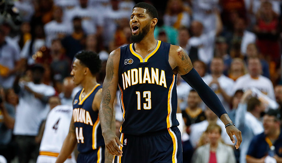 Platz 11: Paul George (Indiana Pacers): 109,25 Punkte
