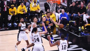 Stephen Curry und die Golden State Warriors bleiben in den Playoffs unbesiegt