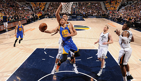 Stephen Curry war mit 30 Punkten Topscorer der Warriors