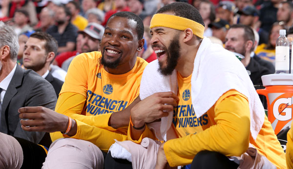 Kevin Durant, JaVale McGee