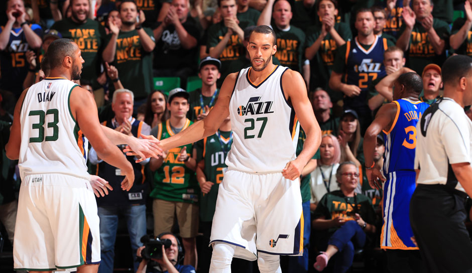 Rudy Gobert (Utah Jazz, Center, 339 Punkte): 14 Punkte, 12,8 Rebounds, 2,6 Blocks