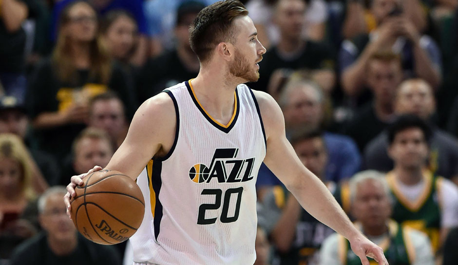 Gordon Hayward (Utah Jazz, Forward, 27 Punkte): 21,9 Punkte, 5,4 Rebounds