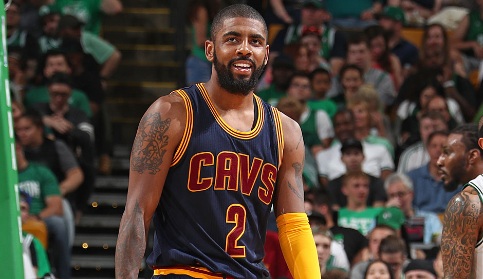 Kyrie Irving (Cleveland Cavaliers, Guard, 14 Punkte): 25,2 Punkte, 5,8 Assists