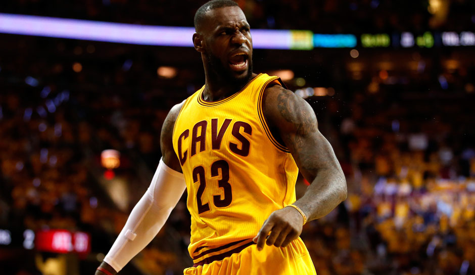 LeBron James (Cleveland Cavaliers, Forward, 498 Punkte): 26,4 Punkte, 8,7 Assists, 8,6 Rebounds
