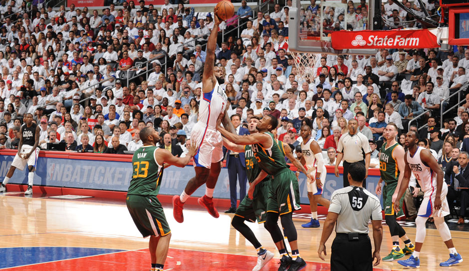 DeAndre Jordan (L.A. Clippers, Center, 54 Punkte): 12,7 Punkte, 13,8 Rebounds